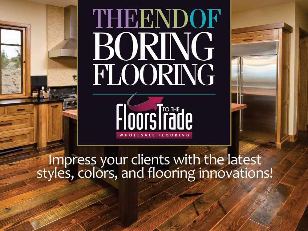 End of Boring Flooring